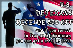 Veterans Receive 50 Percent Off